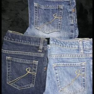 Children place denim jeans size 10 children